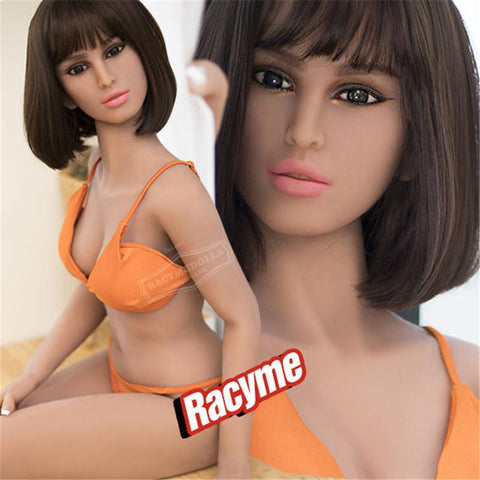 Orange Bra Barbara Sex Love Doll C Cup for Men