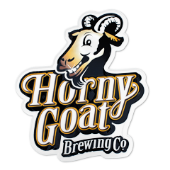 Horny Goat Metal Tacker Sign