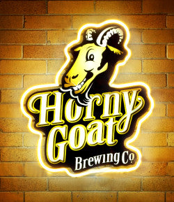 Horny Goat Neon Sign