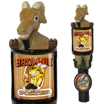 Consumer Brownie Porter Tap Handle Horny Goat Beer Changeable