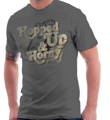 Hopped Up and Horny T-shirt Horny Goat Brewing Co