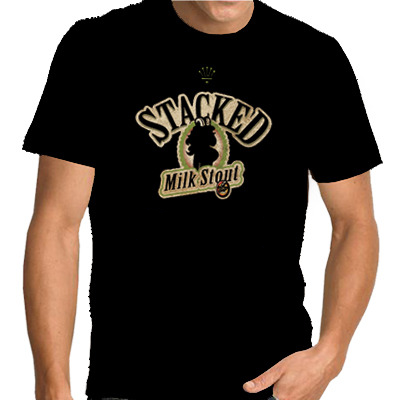 Stacked Milk Stout T-shirt Horny Goat Brewing Co