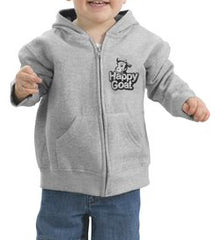 Kids Happy Goat Zip Hoody