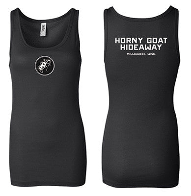 Ladies Black Distributor Tank