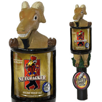 Consumer Nutcracker Tap Handle Horny Goat Beer Changeable