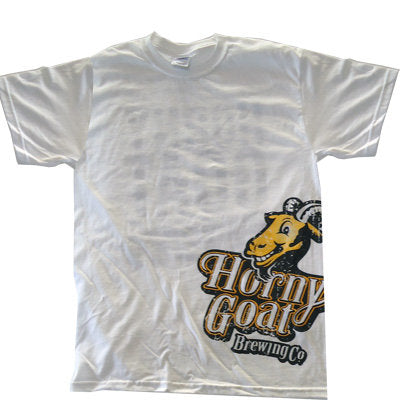 Horny Goat Brewing Co Side Print Tee