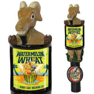 Consumer Watermelon Wheat Ale Tap Handle Horny Goat Beer Changeable