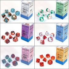 Previewing the All Gemini Lab Dice 3 Sets from Chessex with Pictures