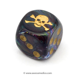New Dice: Skull & Crossbones, Spider and Elder Sign