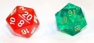 d20 Dice Randomness Test: Chessex vs GameScience