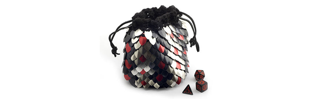 Dragonscale Dice Bags