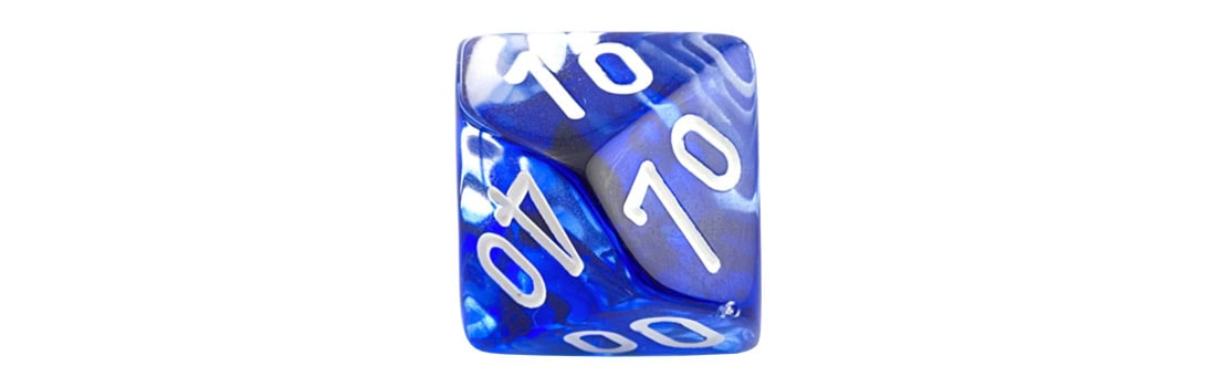 Percentile D10 Single Dice