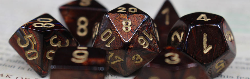Chessex Scarab Dice