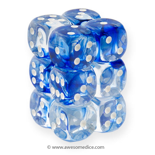 Nebula Blue 12d6 Dice Set