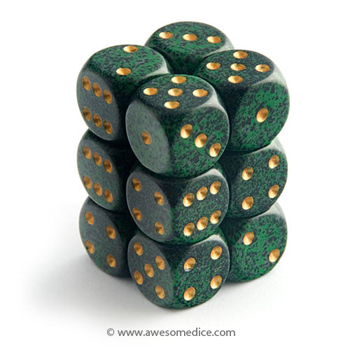Speckled Golden Recon 12d6 Set