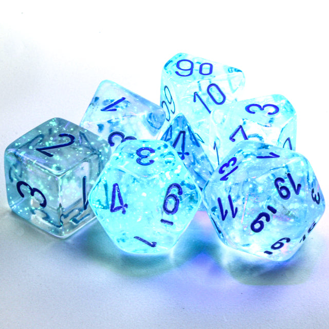 Borealis Icicle with Luminary Dice Set