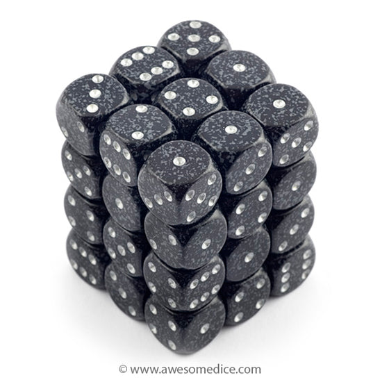 Speckled Ninja 36d6 Dice Set