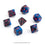 Gemini Black-Starlight 7-Dice Set
