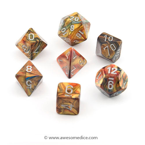 Lustrous Gold 7-Dice Set