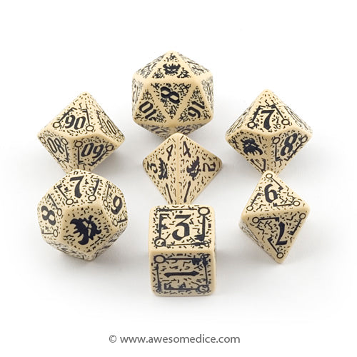 Pathfinder Council of Thieves 7-Dice Set