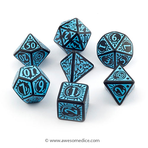 Pathfinder Iron Gods 7-Dice Set