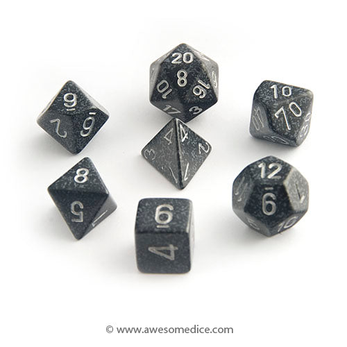Speckled Ninja 7-Dice Set