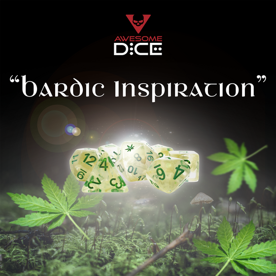 Marijuana-themed Dice Set