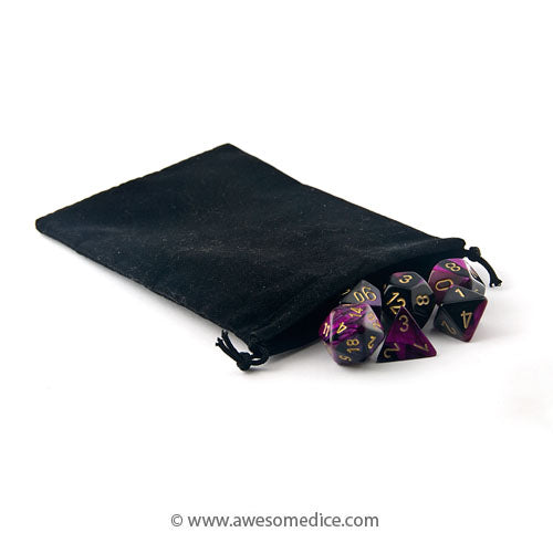 Black Dice Bag