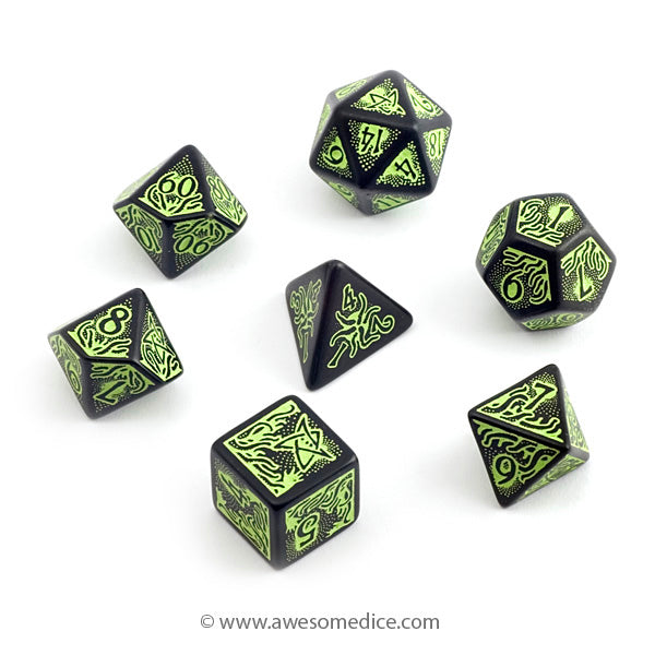 Call of Cthulhu Tentacles 7-Dice Set
