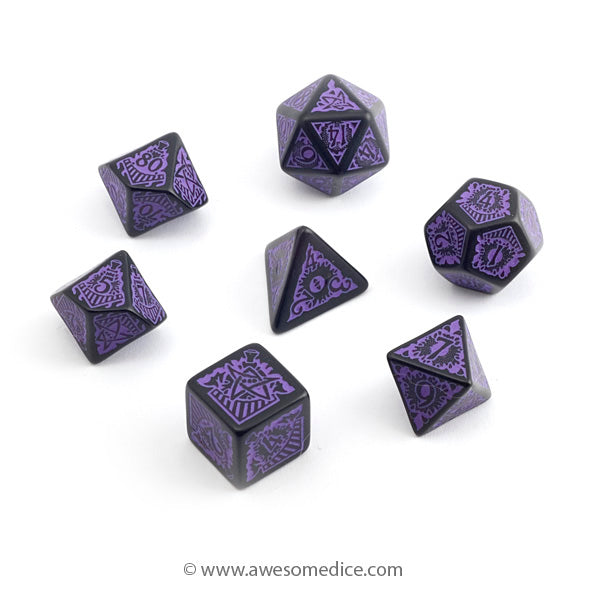 Call of Cthulhu Orient Express Dice
