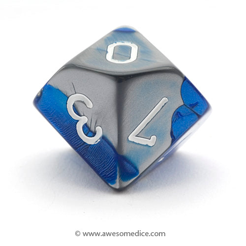Single Gemini Blue-Steel d10
