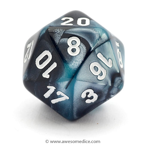 Single Gemini Black-Shell d20