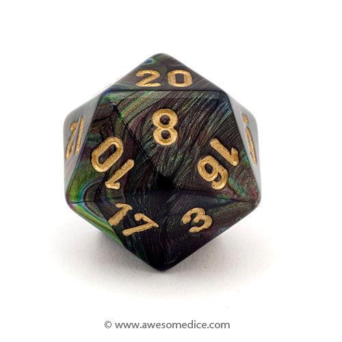 Single Lustrous Shadow d20