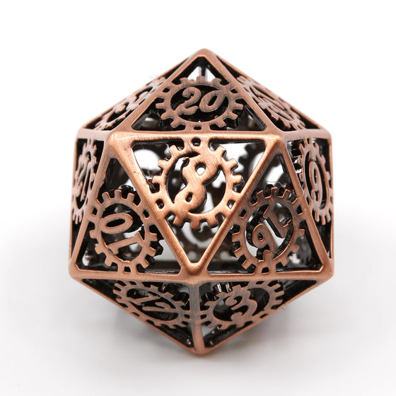 Gears of the Artificer Metal Dice Set