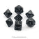 Pathfinder Black Carrion Crown 7-Dice Set