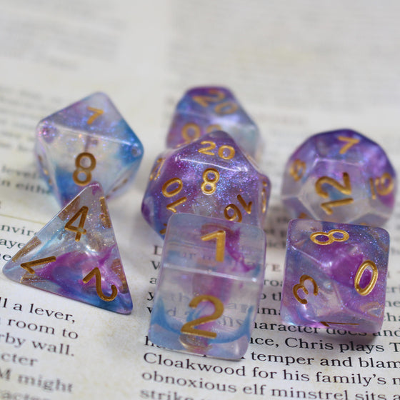 The Lilac 7-Dice Set