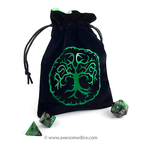 Tree of Life Dice Bag