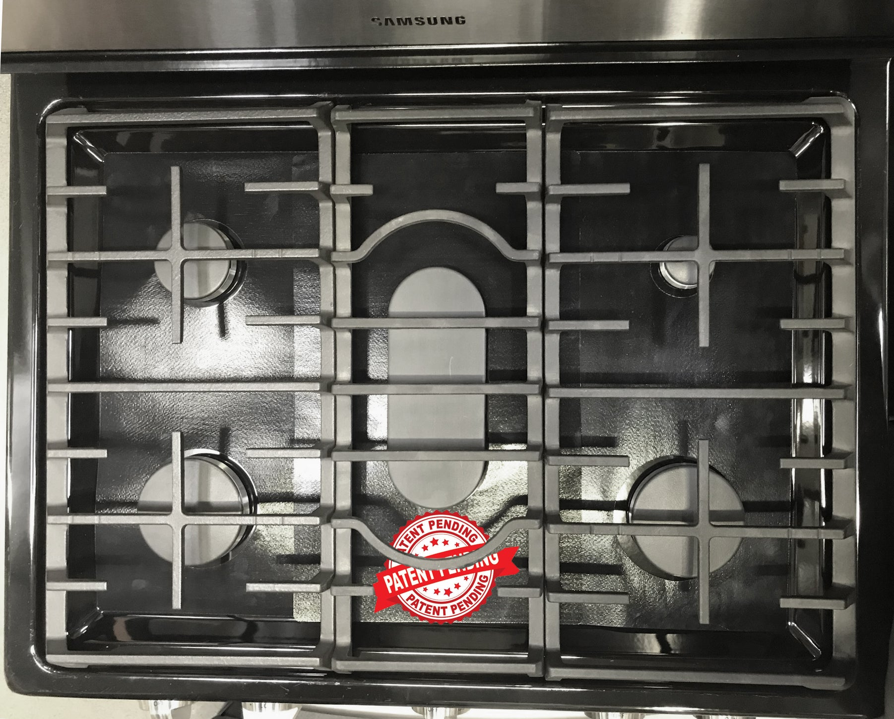 Stove Top Protector for LG Gas Ranges Customized LG Stove Protector Liners Easy Cleaning Stove Liners for LG Model LRG3061BD//01