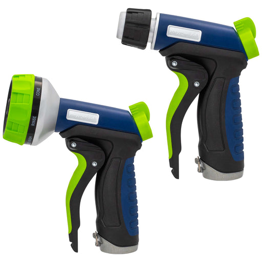 EZPull Front Trigger Ergonomic Metal 7-Pattern & Adjustable Nozzle (2-Pack)
