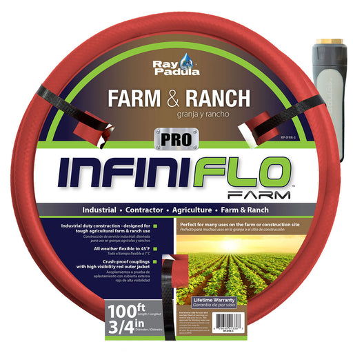 3/4 in. x 100 ft. PRO Industrial Farm and Ranch Hose
