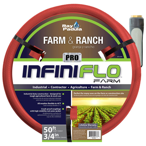 3/4 in. x 50 ft. PRO Industrial Farm and Ranch Hose
