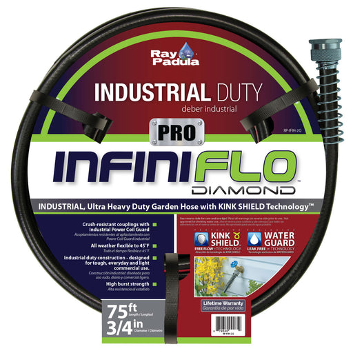 3/4 in. x 75 ft. PRO Industrial Contractor Duty Garden Hose