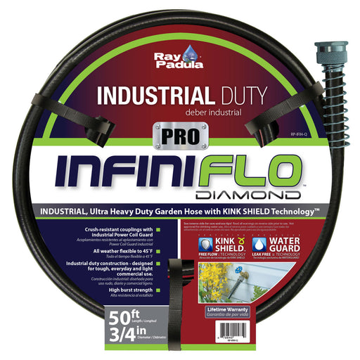 3/4 in. x 50 ft. PRO Industrial Contractor Duty Garden Hose