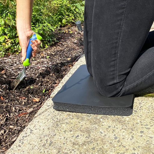 Premium Foam Garden Kneeler Pad and Trowel Garden Tool Set (2-Pack)