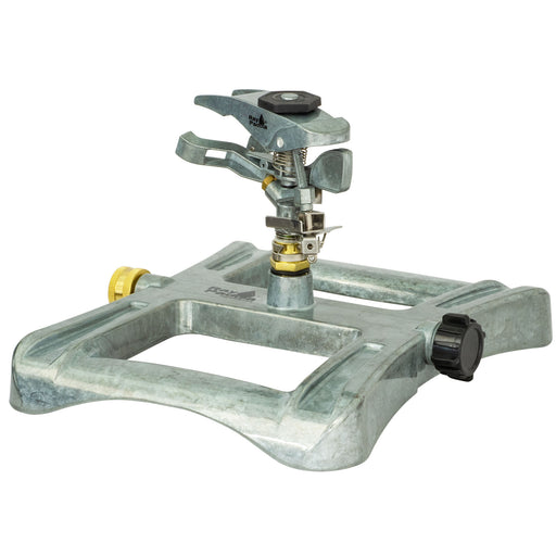 Deluxe Metal Pulsating Sprinkler on In-Series Metal Sled Base