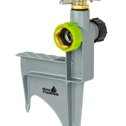 Deluxe Metal Pulsating Sprinkler on In-Series Metal Step Spike