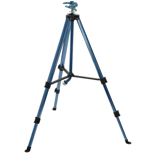 Deluxe Metal Pulsating Sprinkler on Telescoping Tripod