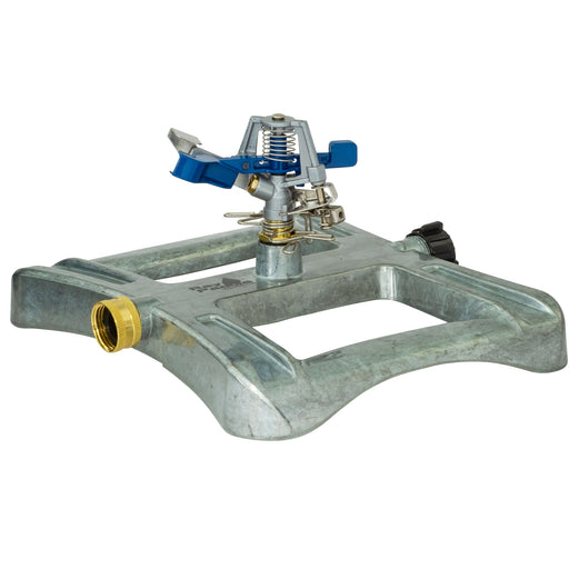Classic Metal Pulsating Sprinkler on In-Series Metal Sled Base