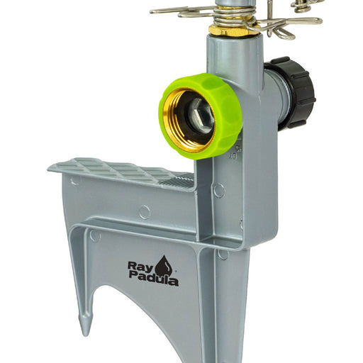 Classic Metal Pulsating Sprinkler on Deluxe In-Series Metal Step Spike
