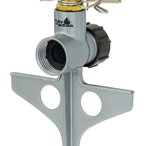 Classic Metal Pulsating Sprinkler on In-Series Metal Step Spike (2-Pack)